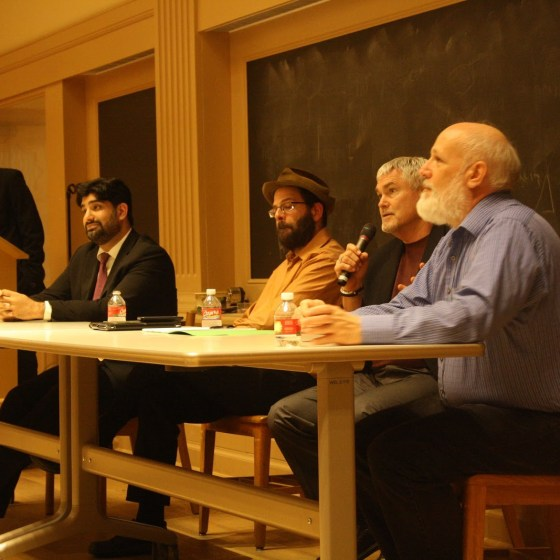 Science & Religion Panel – UT Austin – 2014