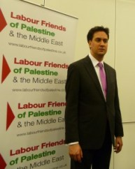 The Labour leader stand with 'Labour Friends of Palestine' and said he would support a Palestinian state and criminalize Islamophobia