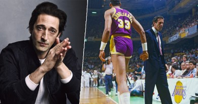 Adrien Brody Lakers