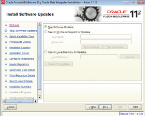 oracle data integrator install windows
