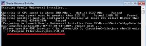 oracle data integrator kurulum windows