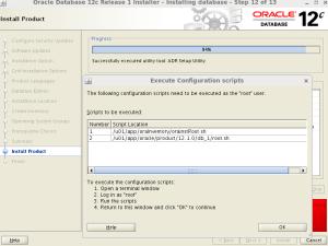 Oracle 12c database Linux Uzerine kurulum