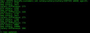 PL-SQL TRIGGERS