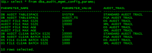 Oracle Audit Tablespace Move