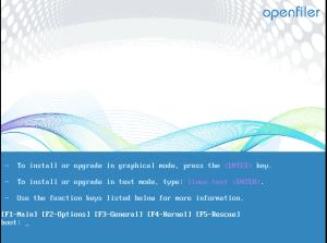 Openfiler 1