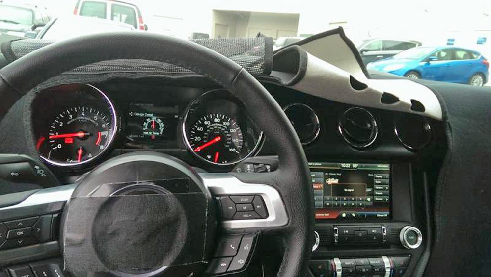 2015 Mustang Gauges And Vents Revealed 2015 Mustang