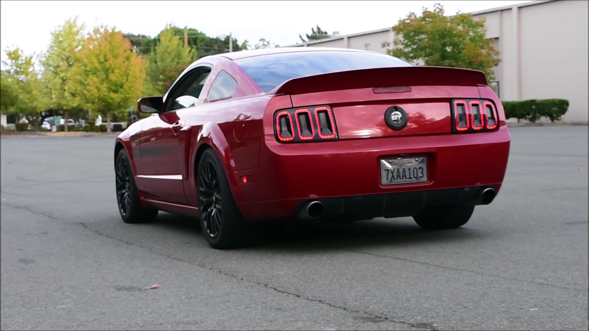 2009 ford mustang gt exhaust sound