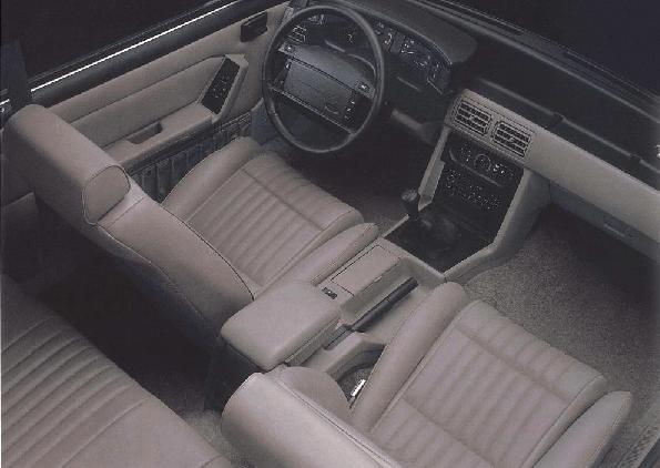 Foxbody Mustang factory interior