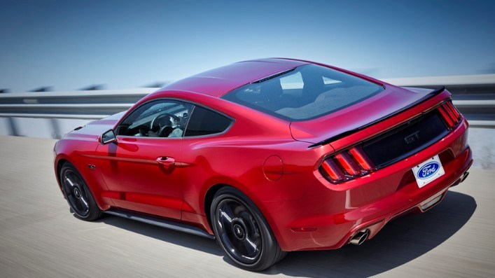 Red 2021 Ford Mustang GT