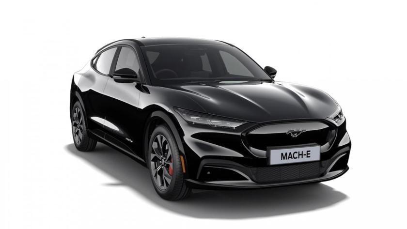 Black Ford Mustang Mach-E