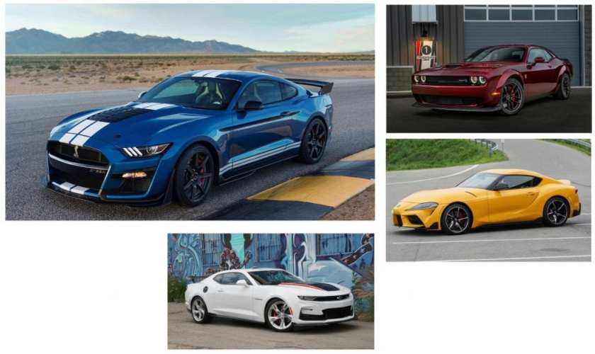 2020 Ford Mustang vs the competition