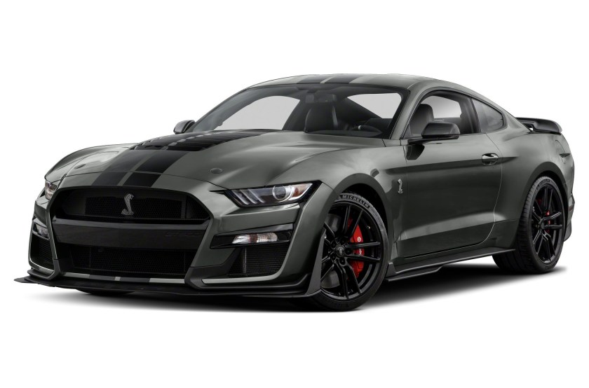 2021 Ford Mustang GT500 Black