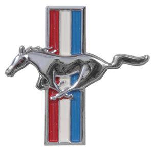 Mustang Running Horse Emblem