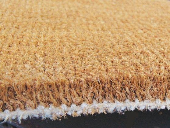 tapis brosse must coco extra tisse sur