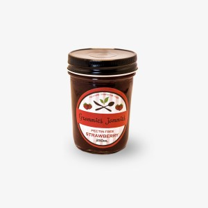 Grammies Jammies Pectin-Free Strawberry Jam