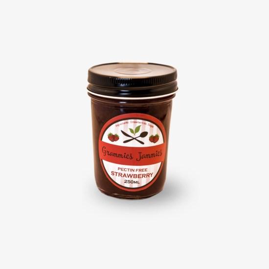 Grammies Jammies Pectin-Free Strawberry Jam