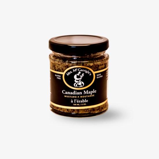Mrs. McGarrigle's Canadian Maple Mustard