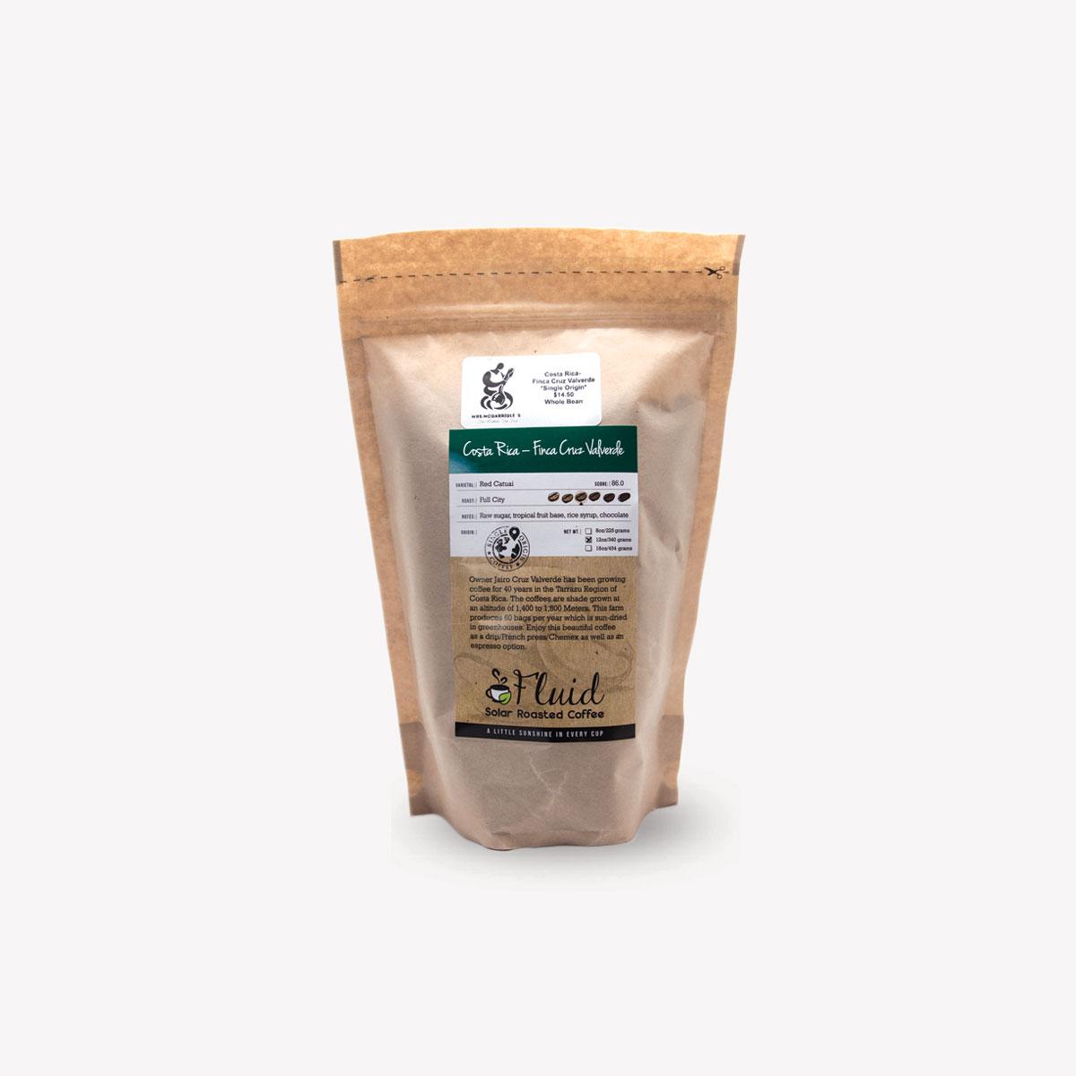 Fluid Solar Roasted Coffee Ambrosia Coffee