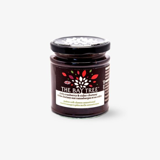 The Bay Tree Rich Cranberry and Cider Chutney