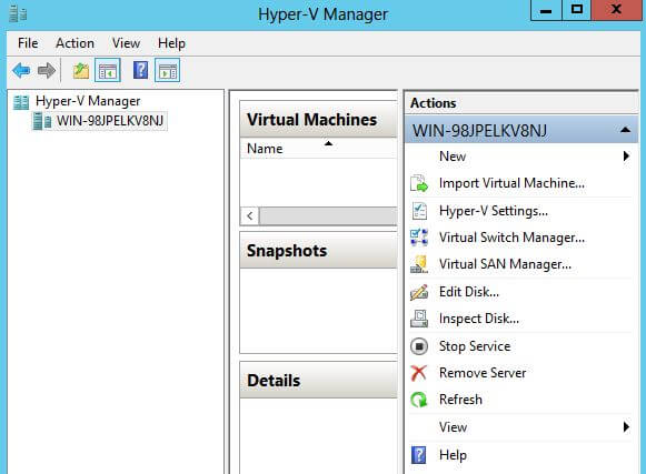 Configure Hyper V and Virtual Machine in VMware Workstation