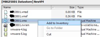 Create Copy of Existing Virtual Machine in ESXi Server