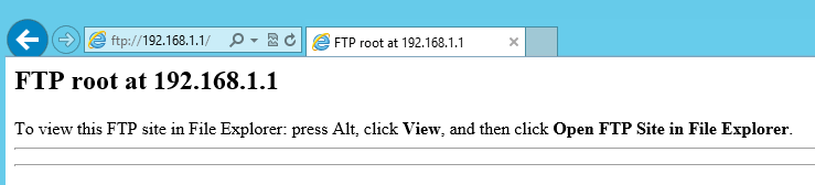 Browse FTP