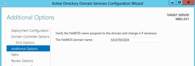 NetBIOS Name