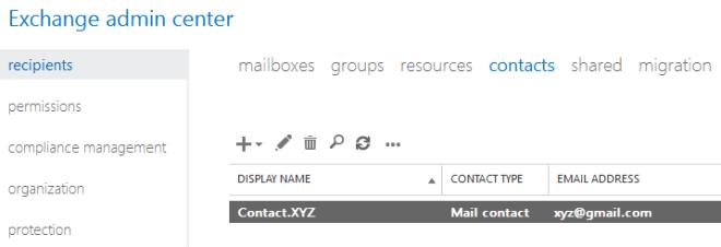 Setup Email Forwarding in Exchange 2013 Mailbox