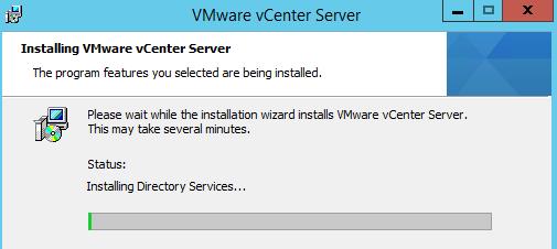 Installing vCenter Server