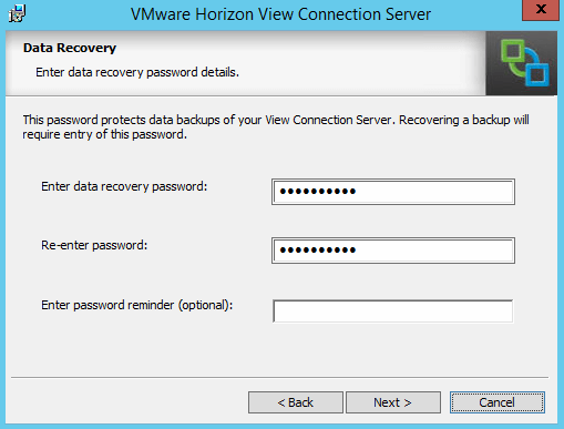 Data Recovery Option
