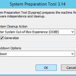 Generate New SID in Server 2012