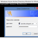 Setup Azure Active Directory PowerShell To Manage Office 365