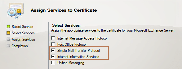 select services