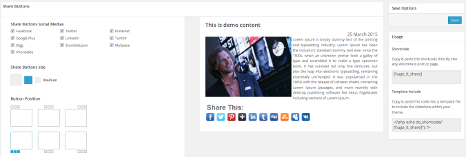 Add Social Sharing Button in WordPress with Share Buttons Plugin
