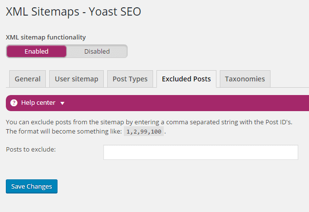 generate xml sitemap using yoast seo plugin in wordpress