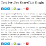 Add Social Sharing Button in WordPress with ShareThis Plugin