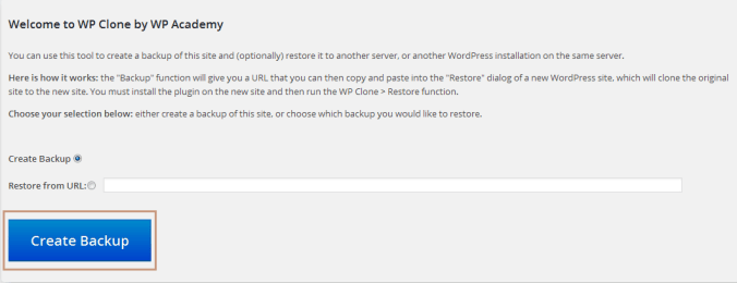 Easily Backup WordPress Site with WP Clone Plugin