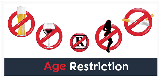 age-restriction adults only age verification