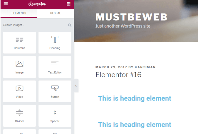 How to Install and Use Elementor Page Builder in WordPress