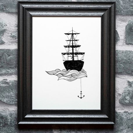 Anchor on the wall