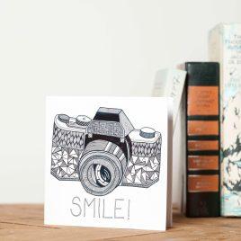 Camera 'Smile' – Greetings Card