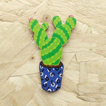 Cactus Pin – Pre Order