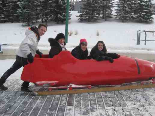 Image result for Calgary Canada Olympic park bobsleigh