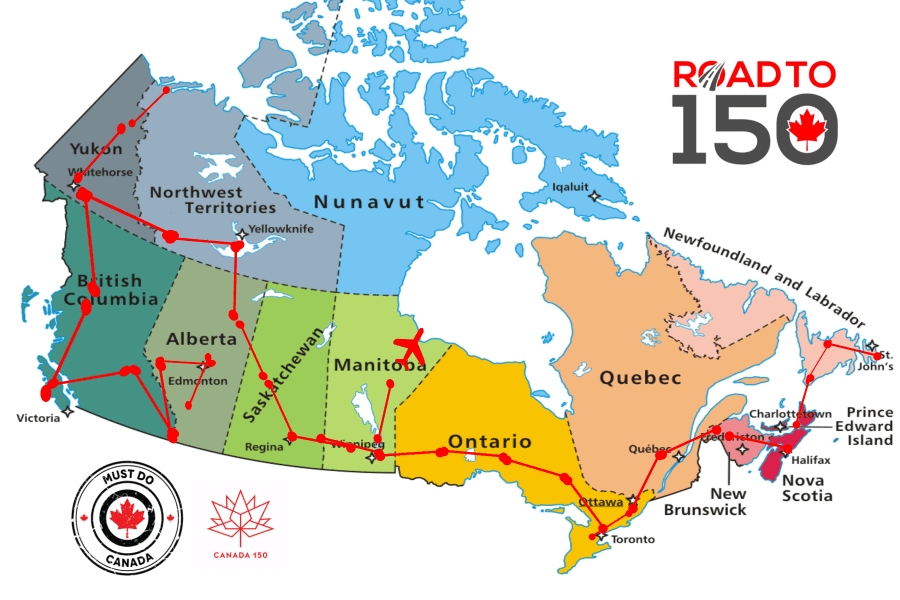 Ultimate Road Trip Across Canada | Must Do Canada on