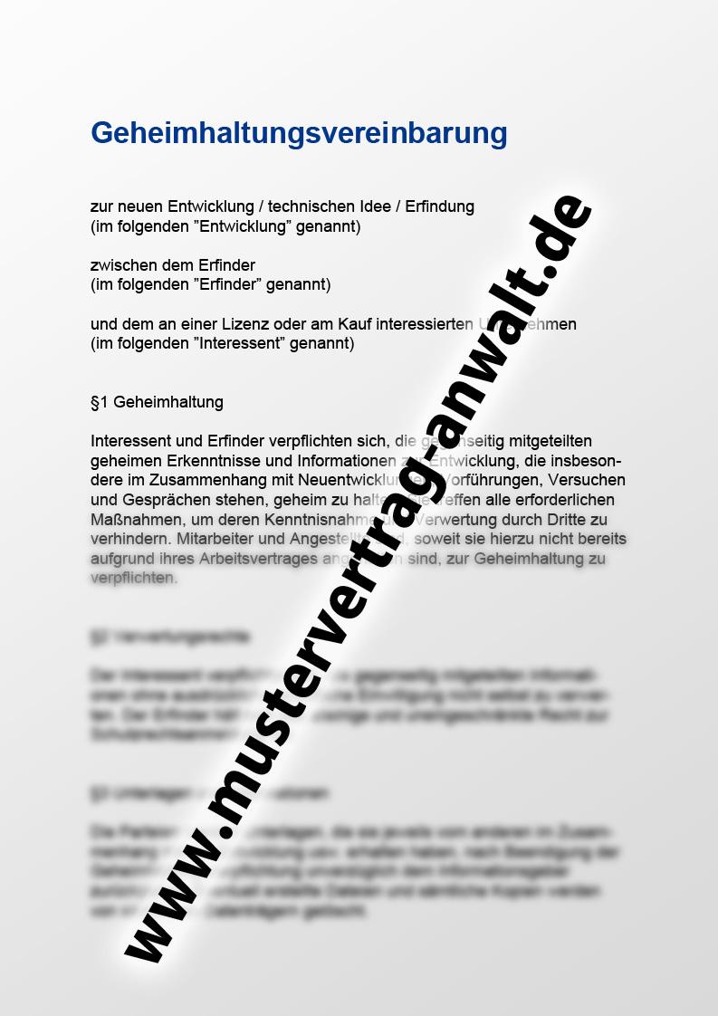 Großartig Persönliche Geheimhaltungsvereinbarung Zeitgenössisch ...