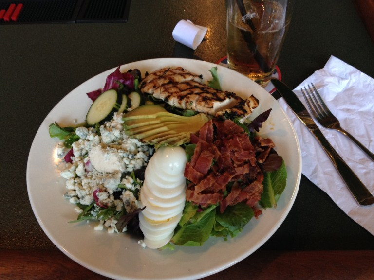 The best Cobb Salad. Ever.