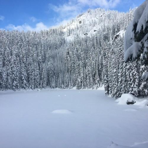 Snoqualmie Pass snowshoe