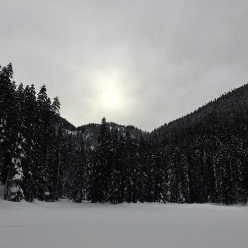 Stevens Pass Snowshoes WA