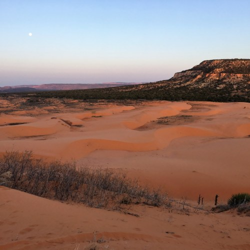 Camping Coral Sands Pink Sand Dunes