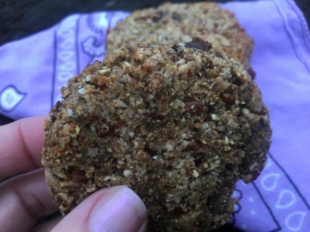 Plantain Chia Seed Breakfast Cookies Paleo Vegetarian Gluten Free Must Hike Must Eat
